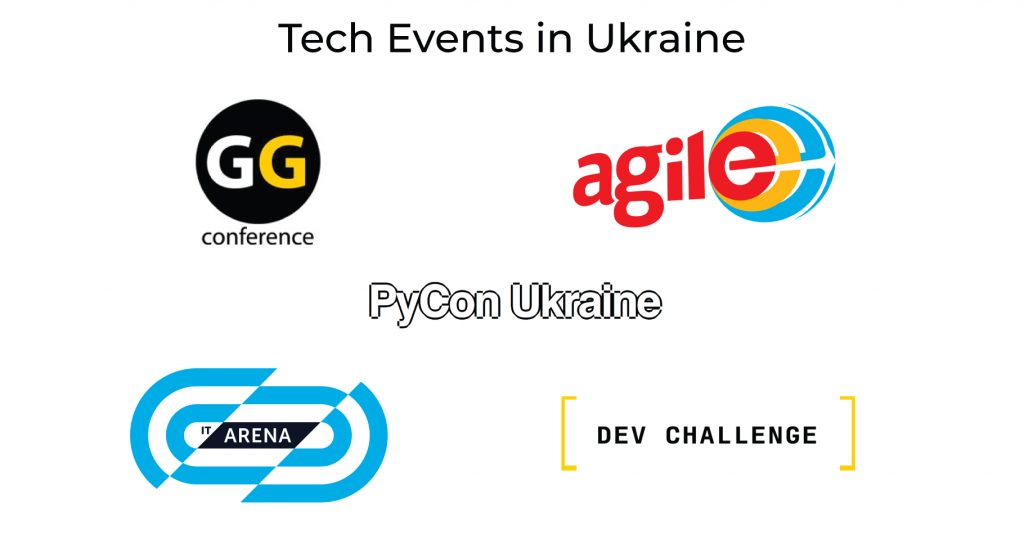 Software Development Outsourcing to Ukraine - Top Tech Conferences