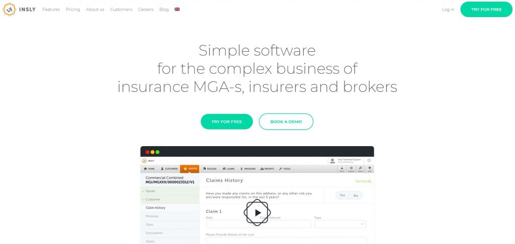 Insurance Software Development Companies - Insly