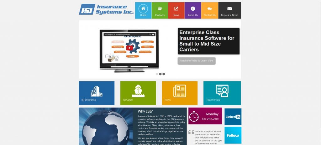 Top insurance tech companies - ISI