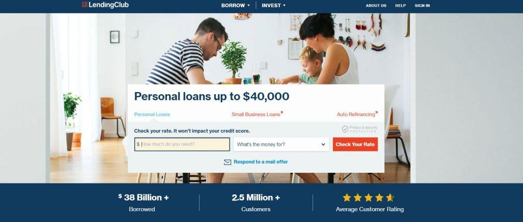 P2P lending companies - LendingClub