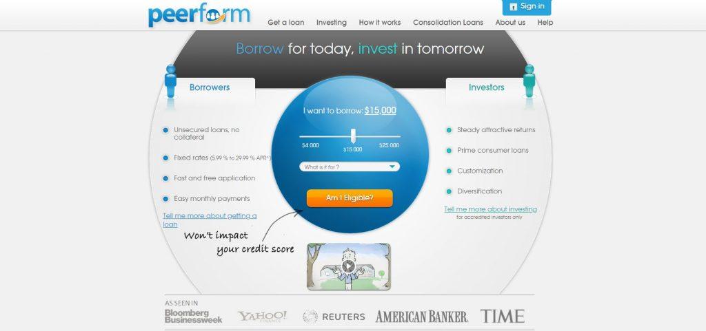 P2P lending companies - Peerform