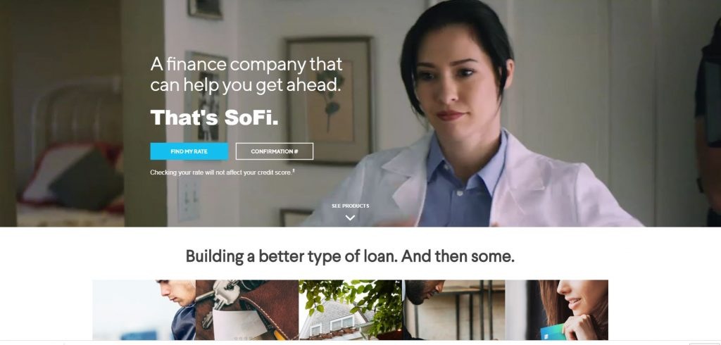 P2P lending companies - Sofi