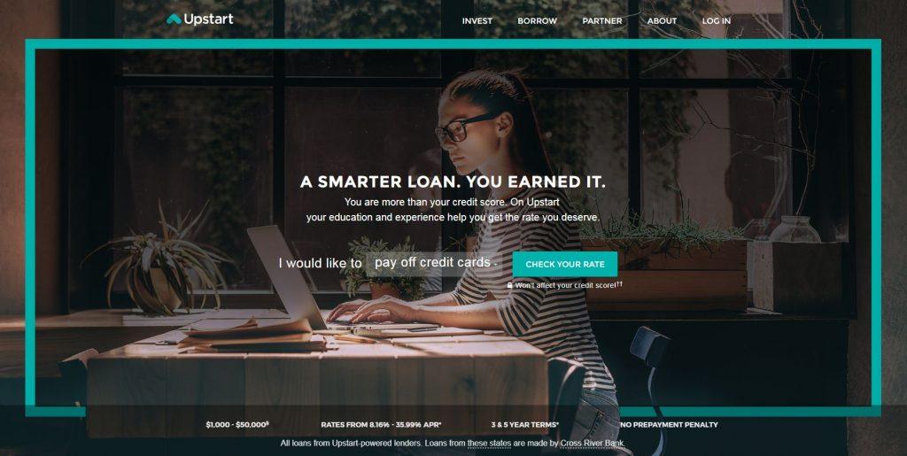 P2P lending companies - Upstart